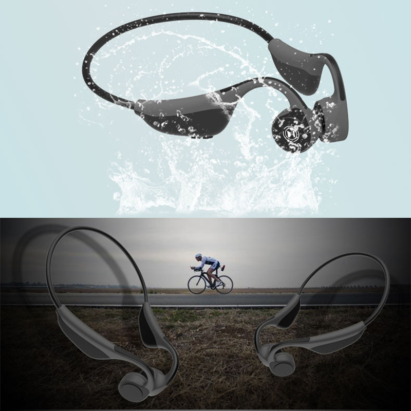 Cordless Hooks Bone Conduction Sports Earphone For Xiaomi Huawei Car iPhone Stereo Bluetooth Player Portable Wireless Headphone