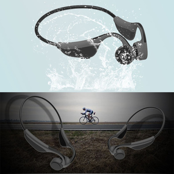Cordless Hooks Bone Conduction Sports Earphone For Xiaomi Huawei Car iPhone Stereo Bluetooth Player Portable Wireless Headphone