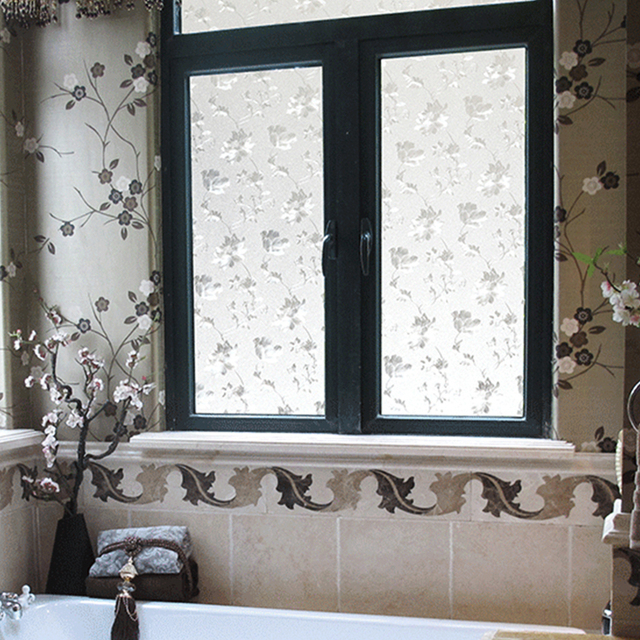 45*100 Hibiscus Flower Pasta di Vetro Famiglia Soggiorno Camera Da ...