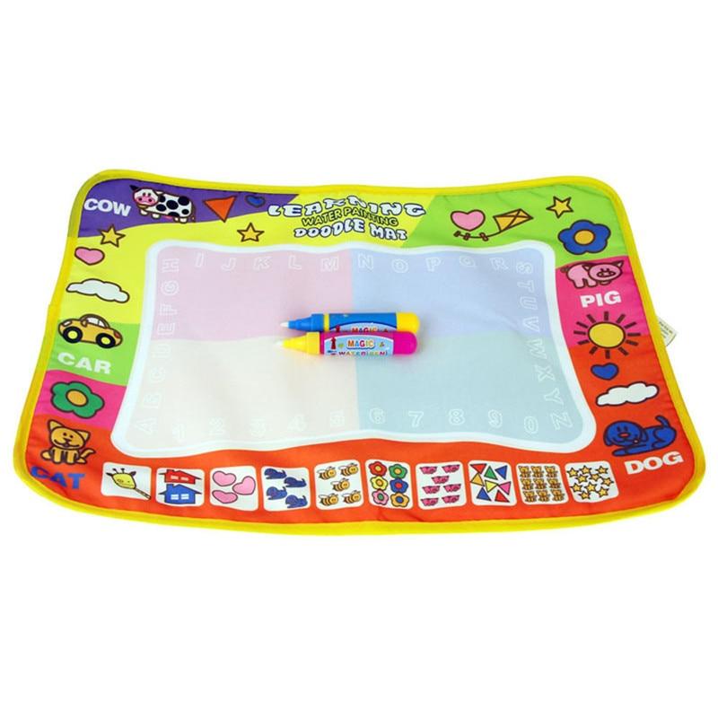 New-Aqua-Doodle-Childrens-Drawing-Toys-Mat-Magic-Pen-Educational-Toy-1-Mat-2-Water-Drawing-Pens-455-x-29cm-Free-Shipping-Vee-2