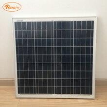 Renepv 60 w painel solar de silício Policristalino RD60TU-18P 18 v ao ar livre de carga de bateria solar