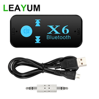 5pcs Stereo 3.5 Blutooth Adapter Wireless For Car Music Audio Bluetooth 4.0 Aux Adapter for Headphone Reciever Jack Handsfree