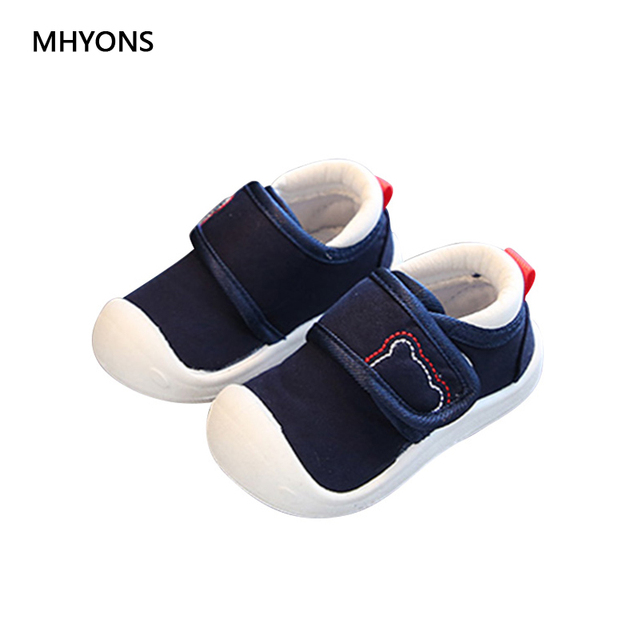 7d72140e93ee 2018 New Kids Shoes Sneakers Soft Elastic Fabric Baby Shoes First Step Boy Girl  Shoes Infant Newborn Children s Antiskid Sneaker