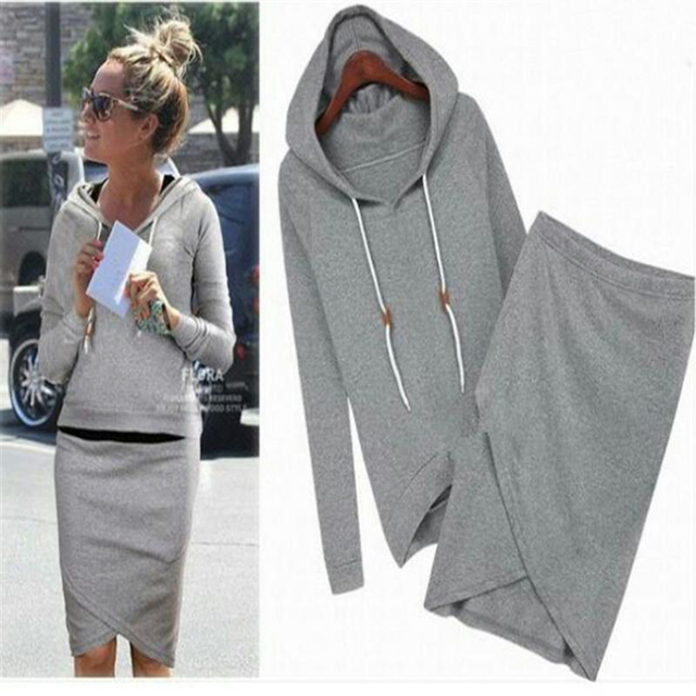 The New 2016 Cool Fleece Suit Women Hooded Cultivate One's Morality Casual