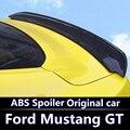 Для Ford Mustang спойлер 2015 2016 2017 высокая твердость и качество ABS Материал задний багажник крыло спойлер для Ford Mustang спойлер