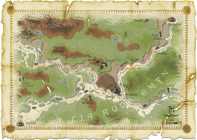 Russian March Topographic Map Classic Vintage Retro Kraft Decorative