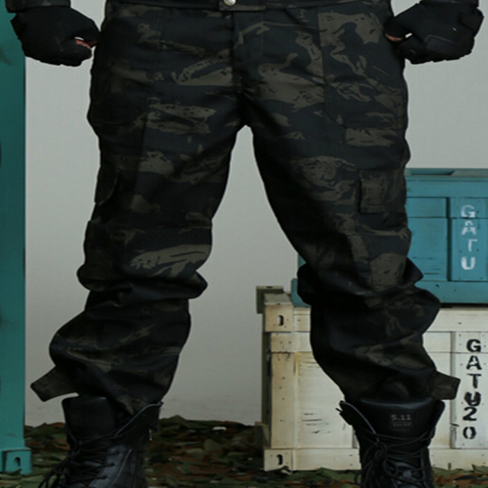 Mannen Camouflagepak Multicam Jachtkleding Tactische Uniformen - Sportkleding en accessoires - Foto 6