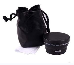 Image 2 - Объектив для камеры Sony Alpha, черный широкоугольный объектив 49 мм 0,45x с макро объективом для Sony Alpha, NEX 3, для Sony Alpha A3000, с объективом 18 55, для Sony Alpha A3000, с объективом 18 55