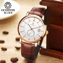 Fashion OCHSTIN Brand Men Quartz Watches Men Male Dress Clock Montre Homme Military Watches Men Relogio