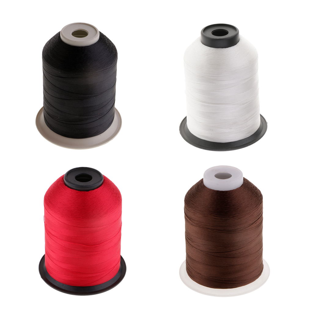 Durable Nylon Whipping Wrapping Thread for Fishing Rod Ring Guides 2187 Yds Fishing Guide Wrapping Line Black/ White/ Red/ Brown