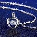 Bisuteria mujer femme 925 esterlina plata pingente pendentif de novia joyería de plata esterlina (JA302)