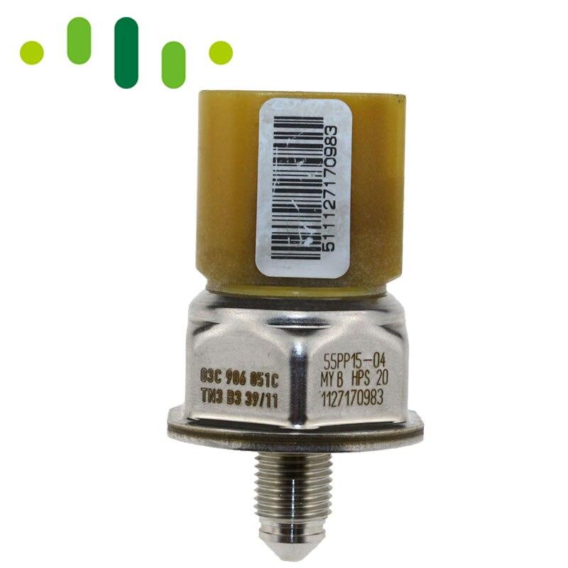 1 x FUEL RAIL HIGH PRESSURE SENSOR FOR AUDI 2.0 A3 A5 A6 Q5 55PP26-02 New