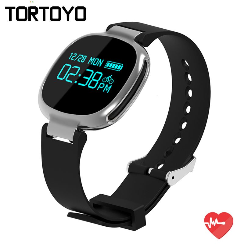 E08 Smart Wrist Band Heart Rate Monitor Bluetooth Bracelet IP67 Waterproof Swimming Wristband Fitness Tracker For