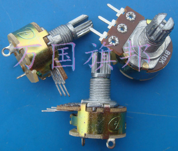 Free Delivery.WH148 Alliance B10K Single Tripod Potentiometer With Switch