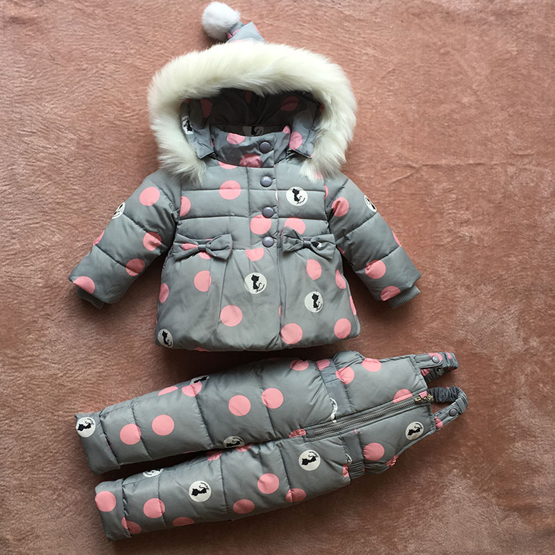 c2f20fe28d5b The baby suit jacket winter coat new two piece suit jacket girls 1 2 ...