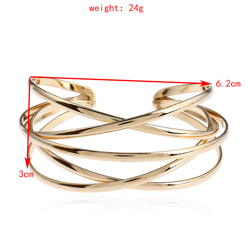 Women's Minimalist Geometric Ladder Bangle Bracelets Jewelry Women Jewelry