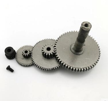 4pcs/set -Stainless steel reduction gear rack and pinion gear 0.5-1 modulus gear set-Main shaft hole:5mm все цены