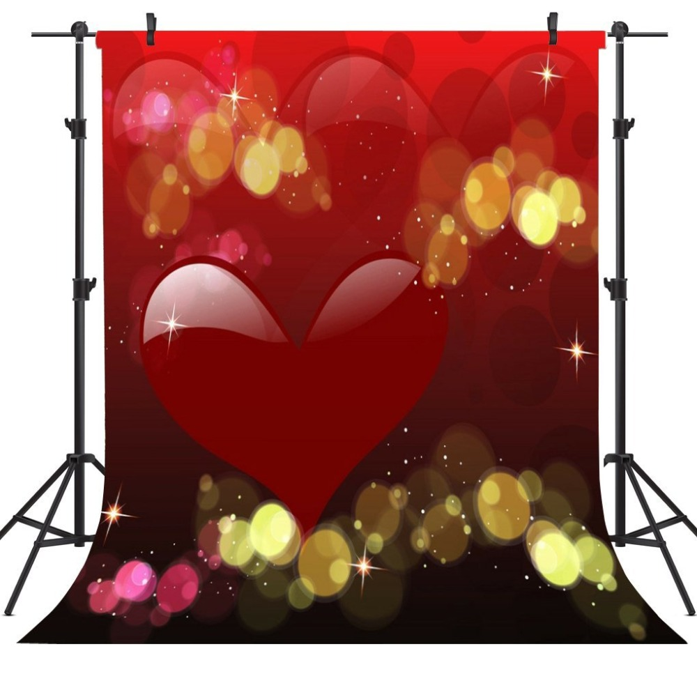 Capisco Valentine s Day Backgrounds For Photo Studio Love Letter Heart-shaped Wooden Photo Background Photography Backdrop