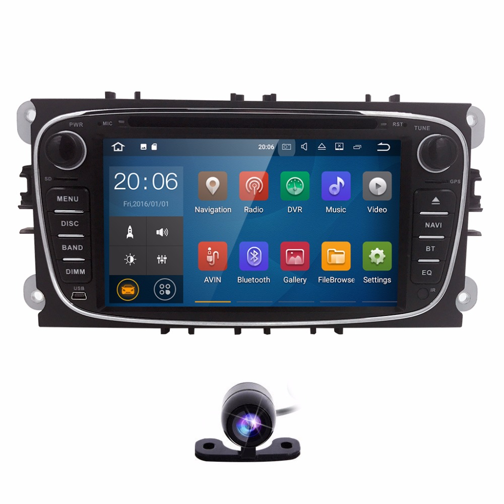 8 2din android 71 dvd player do carro para fordmondeos max o fandeluxe Choice Image