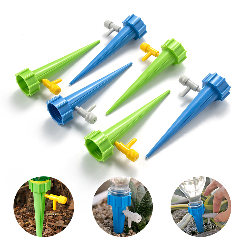 1pcs Automatic Watering Tools Watering Drip Device Gardening Flower Pot Plant Potted Watering Spikes Irrigation System Drop Ship