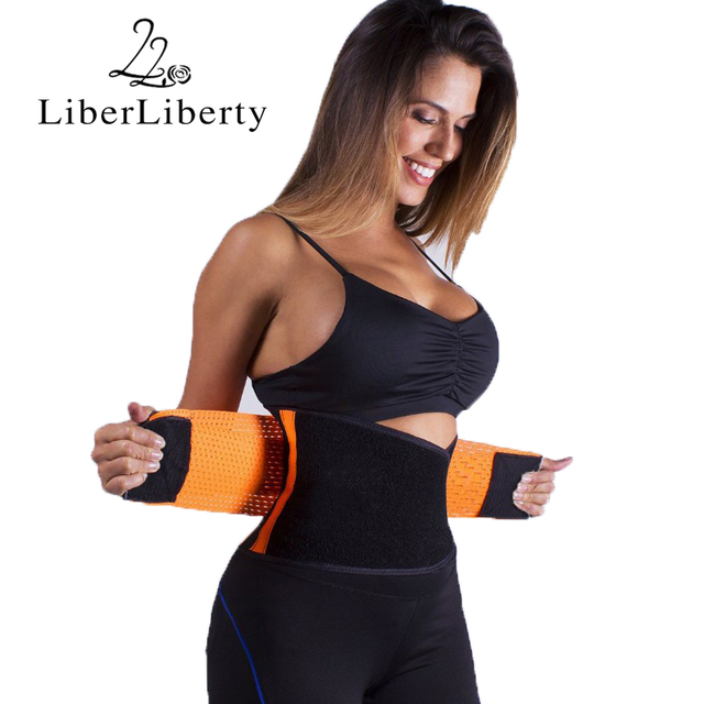 Women Men Hot Running Body Waist Slimming Belt Girdle Waist Training Gym Sports Ultra Sweats Firm Control Trainer Shaperwear
