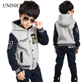 Children's Clothing Sets Winter Boy's Suit New Style Teen Boy Sports Outfit Boy Thicken Clothes Kids Tracksuit Baseball Clothes