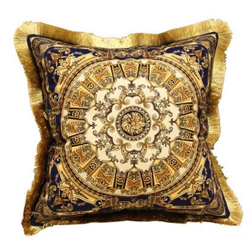 Gold Silk Decorative Pillow : Luxury gold velvet cushions Luxury pillow Decorative cushion, decorative silk pillow, silver ...