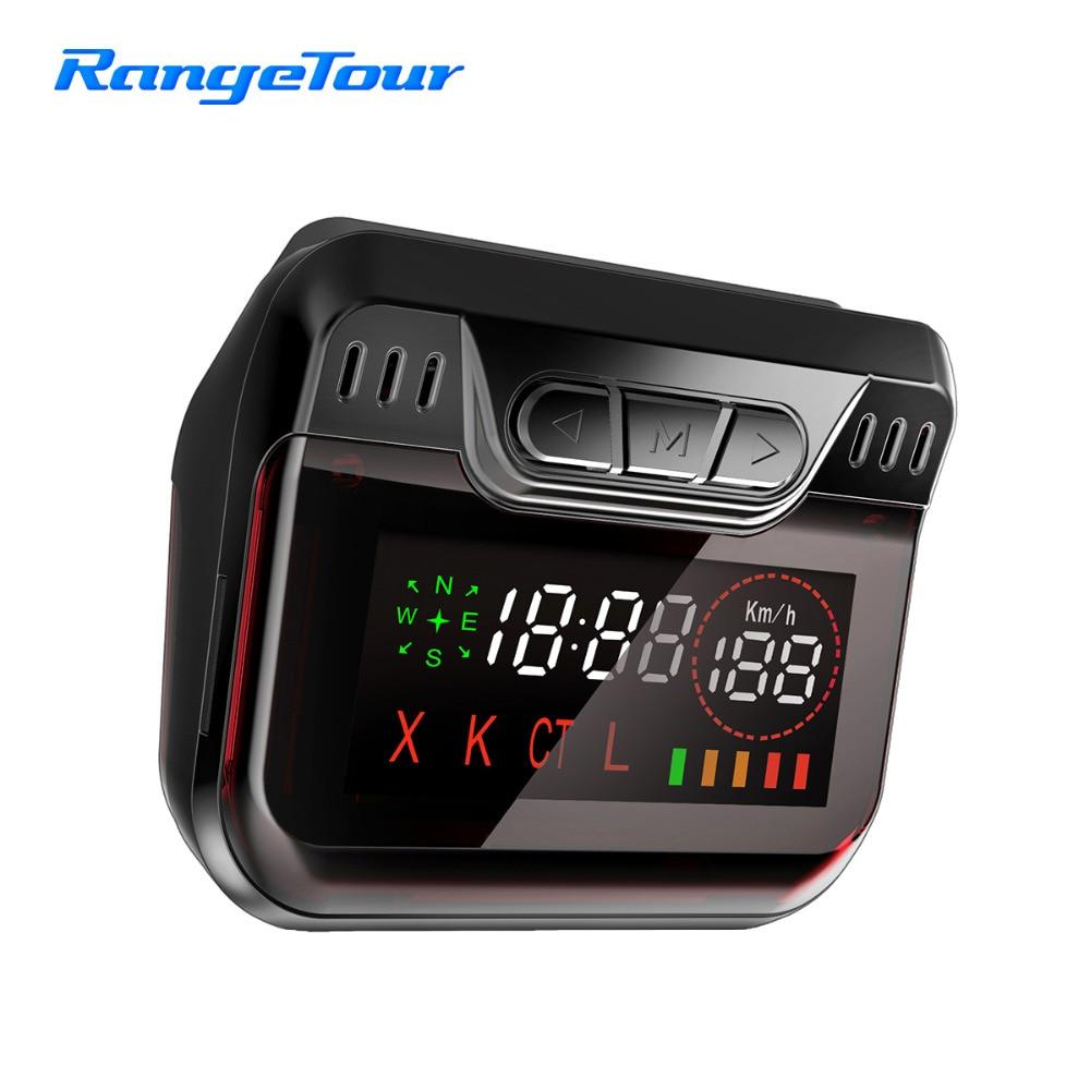 Radar Detector App >> Range Tour Radar Detector for Russian Police Speed with Car GPS AntiRadar Detectors 360 Degree ...
