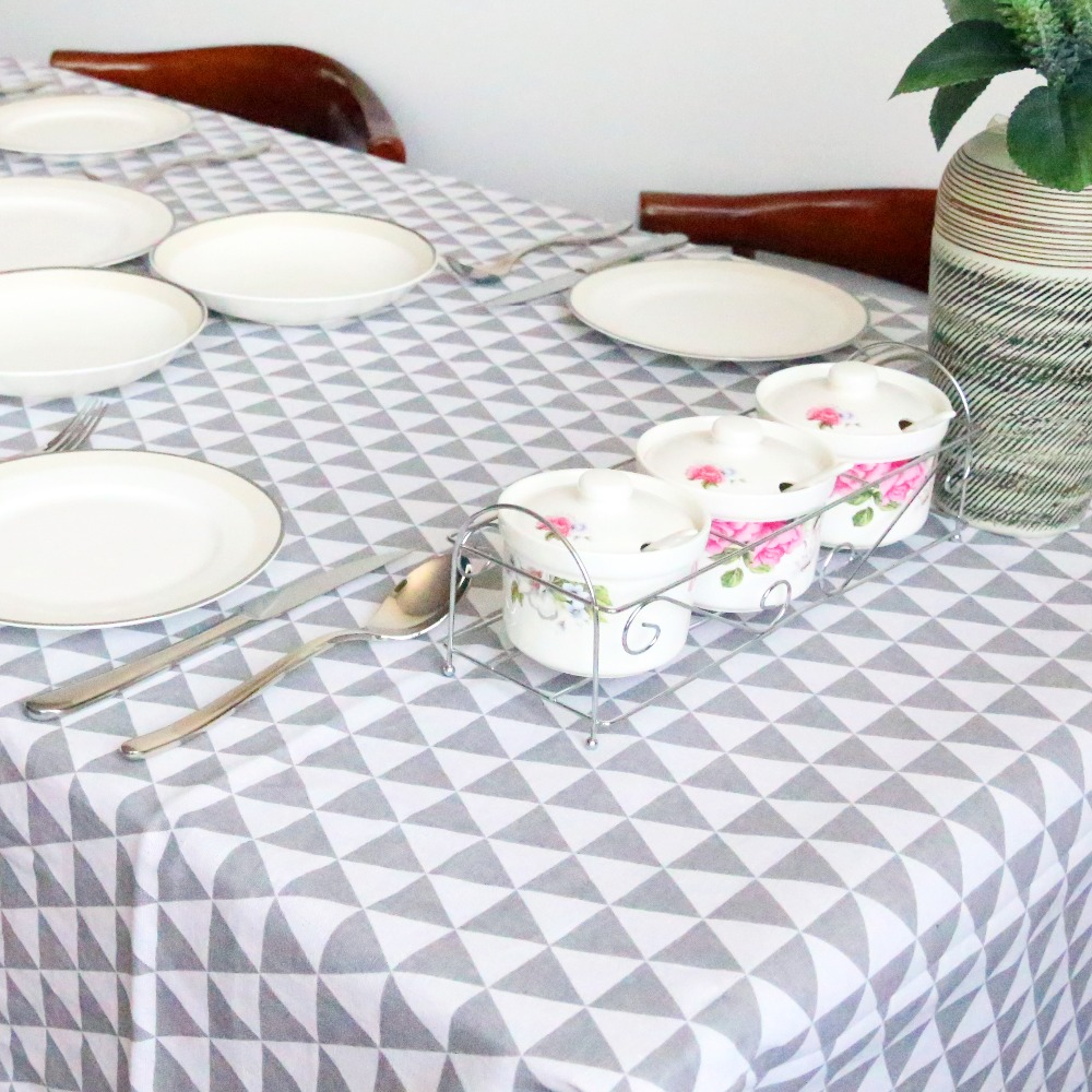 Beddingoutlet Black Triangle Tablecloth Cotton Linen Dinner Simple Table Cloth Macrame Decoration Lacy Cover Europe Hot In Tablecloths From Home