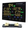 EPM6600 / 50A / 10kw / multifunction power meter monitor single fase AC electric meterenergy meter/kwh meter