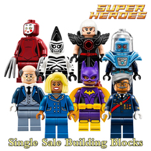 Building Blocks Mayor Ton Batgirl Mr. Freeze Alfred Kabuki Cnins Starwars Superhero Bricks Kids Educational DIY Toys Hobbies