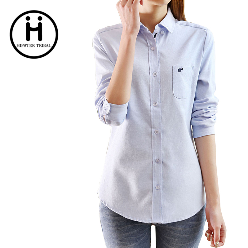 Buy women tops blouse spring autumn long for Buy denim shirts online