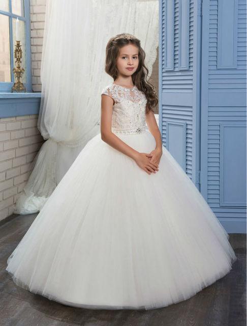7d861c1b7f Syrenka Kwiat Dziewczyny Sukienki Na Wesele Suknia Tulle Vestido Longo  Suknia Dla Dzieci Suknie Wieczorowe Długi