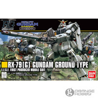 OHS Bandai HGUC 210 1/144 RX 79(G) Gundam Ground Type Mobile Suit Assembly Model Kits