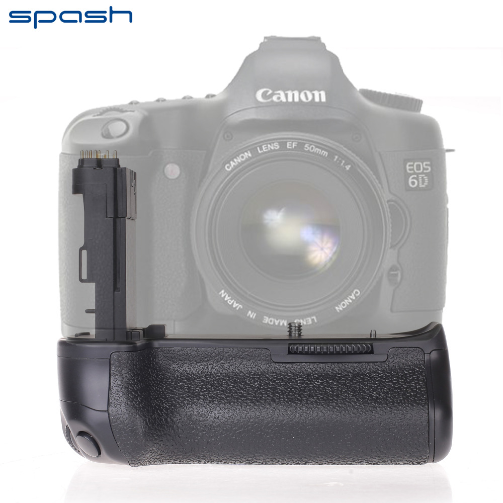 Professional Vertical Battery Grip Holder For Canon EOS 6D as BG E13