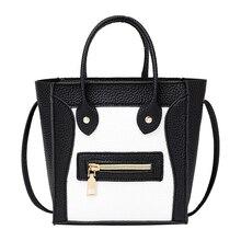 New Women Leather Handbags Shoulder Bags Fashion Smile Face Tote Quality  Smiley Clutches Cross body bag Bolsa Feminina