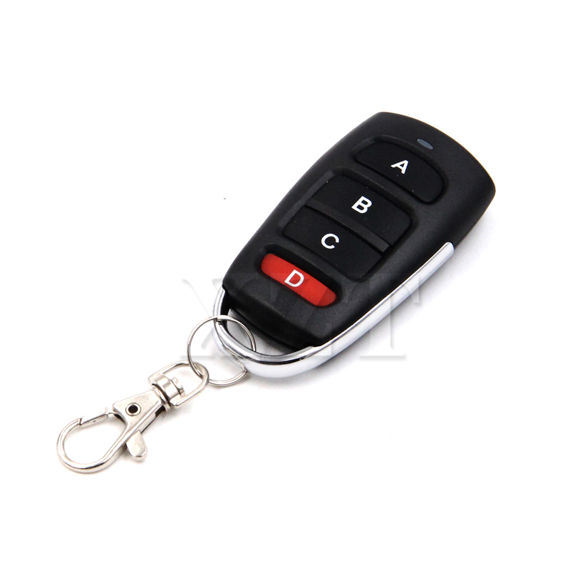 Access Control Door Remote Control 315mhz Electric Garage Door Remote Control Key Fob 4 Buttons Touch Switch Copying Transmitter Cloning Duplicator Garage Opener Attractive Appearance