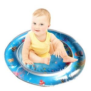 Image 5 - Vendas diretas da fábrica 2019 criativo duplo uso brinquedos do bebê inflável almofada patted almofada de gelo de água do bebê inflável almofada pat