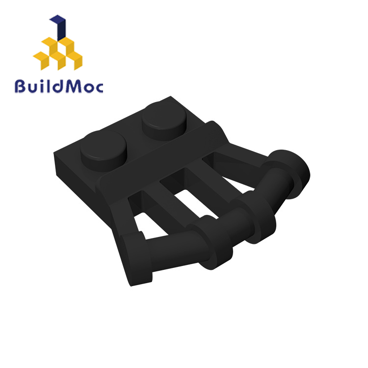 BuildMOC Compatible Assembles Particles 92692 1x2 For Building Blocks DIY Story Educational High-Tech Spare Toys