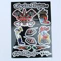 Free Shipping Decals Stickers For Pit Bike Dirt Bike Motorcycle Motocross Super Moto ATV CRF YZF KXF KTM RMZ