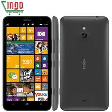 Original Nokia Lumia 1320 Unlocked 1GB RAM 8GB ROM 5MP GPS WIFI Bluetooth 4.0 3G 6.0 inch Nokia Windows Mobile Phone
