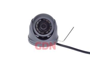Image 2 - 700TVL 1/4 CMOS 12 Led di Visione Notturna 3.6mm Lente Esterna/Interna In Metallo Impermeabile Mini Macchina Fotografica Della Cupola di Sicurezza macchina Fotografica del CCTV