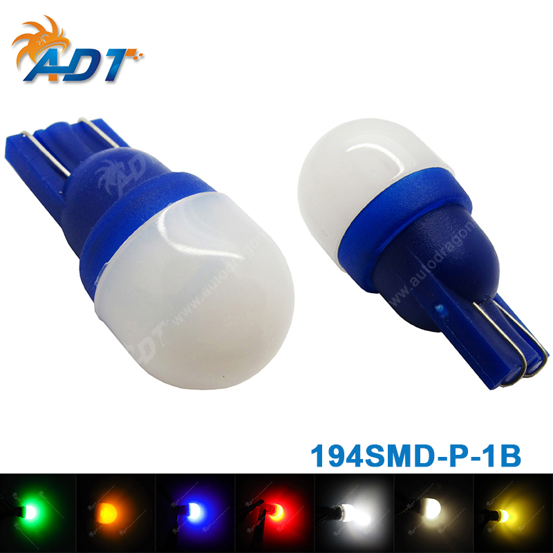 20pcs Non ghosting anti flicker led pinball #555 t10 wedge base AC DC 6.3V frosted round ...