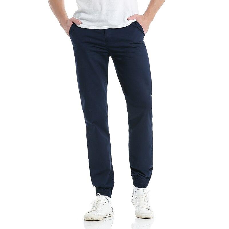 Heren casual broek broek katoen 2017 nieuwe zomer herfst vrije stijl - Herenkleding - Foto 3
