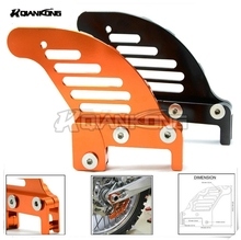 Pit Dirt bike Motorcycle Rear Brake Disc Guard Potector for KTM 300 EXC 2006 2007 2008 2009 2010 2011 2012 2013 2014 2015 2016 недорго, оригинальная цена