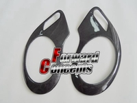 FOR 2 holes 986 911 BOXSTER 996 HEADLIGHTS COVERS EYELIDS TRIMS CARBON FIBER