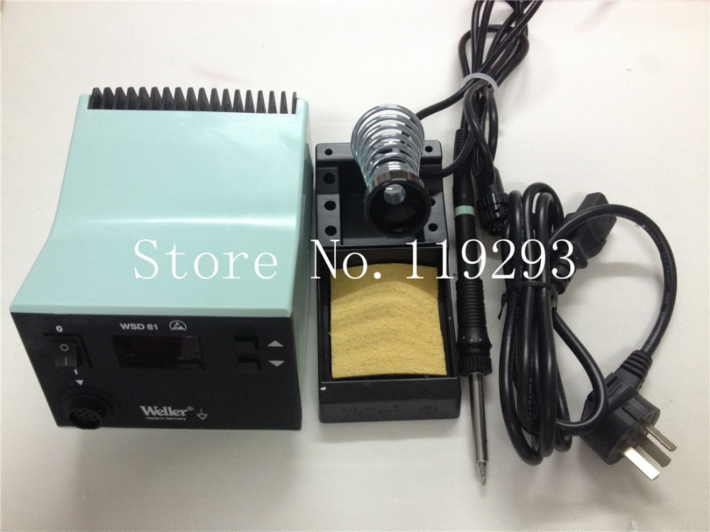 Germany Ville WSD 81 Soldering Station WELLER WSD 81 new original hot new packaging red models+Handle WSP80