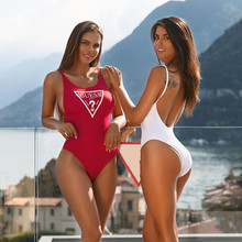 97ca57b5f8f Buy thong sexy one piece swimsuit solid and get free shipping on ...