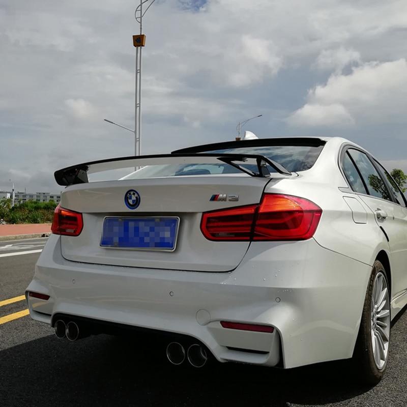 For BMW F30 F80 3 Series M3 320i 323i 325i 328i 2013 2014 2015 2016 ABS Plastic Paint Painting Color Rear Trunk Spoiler GT Style