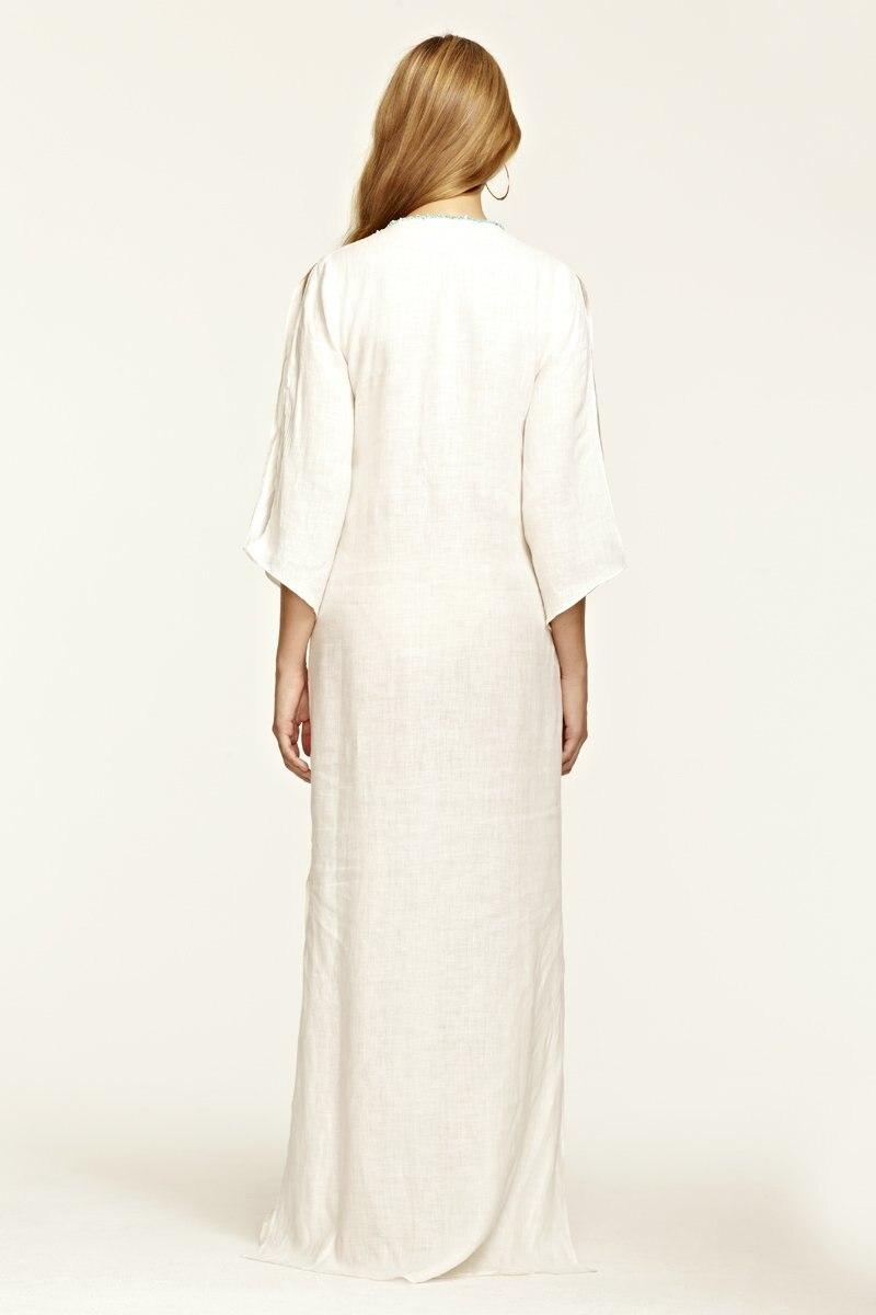 Aliexpress.com : Buy women 100% cotton white maxi dress from ...